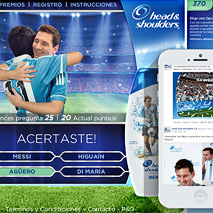 Head & Shoulders - Messi